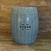 Garden Seat Snake em Cerâmica 48 cm