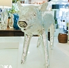 Cofre Pig Cromado 46x13x25cm