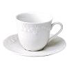 Xícara Café com Pires Califórnia Porcelana Limoges Francesa