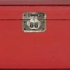 Caixa Madeira vermelha