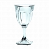 Taça Transparente 18 cm  Italiana Acrílico Guzzini