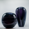 Vaso Purple Vidro 28 cm