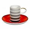 Xícara Café 90ml Pires Casablanca Porcelana 6 Peças Vista Alegre
