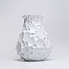 Vaso Krater 22x33cm em Porcelana Vidrada Holaria