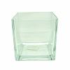 Vaso Quadrado Vidro 15 cm