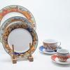 Aparelho Jantar Baeza  em Porcelana Chinesa 42 Peças