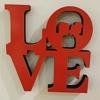 Love Casal em Madeira 15 cm