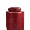 Potiche 28 cm Rouge D´OR Porcelana Chinesa 28 cm