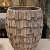 Vaso redondo Wood grande
