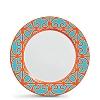 Prato Raso Macedônia 27 cm em Cerâmica 6 Peças