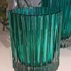 Vaso cristal verde cinquenta III Jaqueline Terpins
