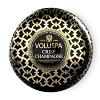 Vela lata 2 pavios Crisp Champagne 50H Voluspa
