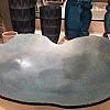 Centro de Mesa Mapa Azul 65x65x13cm - Regina Medeiros