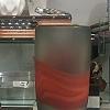 Vaso Grey Orange  13x26cm