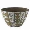 Centro de Mesa African Nairobi Cerâmica 30x18cm