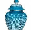 Potiche Ombre Porcelana Chinesa 28x44cm Fabrizio Rollo
