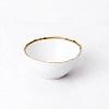 Bowl de Cerâmica Bambu Branco 500 ml