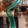 Vaso Tuiuiu I verde da Jaqueline Terpins