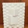 Vaso cubos branco BK