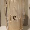 Vaso com ouro 89-branco bastão com ouro
