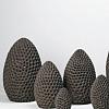 Escultura Ovo Coral 27cm Paulo Neves