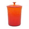 Porta mantimentos laranja