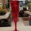 Taça Vermelha 18 cm  Italiana Acrílico Guzzini