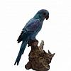 Pássaro Azul em Cerâmica  22 cm